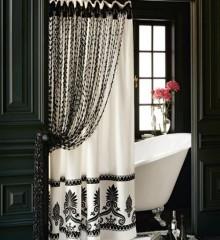 Luxury Shower Curtains  Bathroom Design